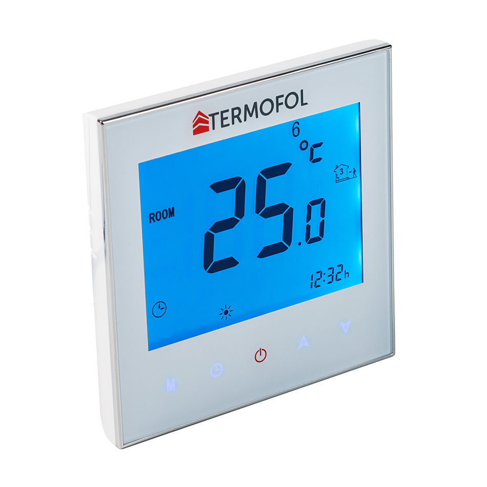 Thermostat Heating Film Underfloor Sensors 5 35c Touch Installation Guide By Discount Floor Control